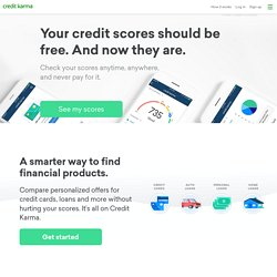 Welcome Back to Credit Karma