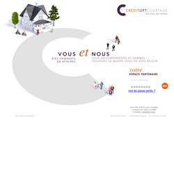 COURTAGE est une marque de CA Consumer Finance, filiale du groupe Cr dit Agricole