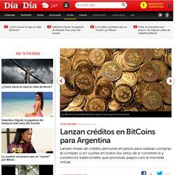 Lanzan créditos en BitCoins para Argentina