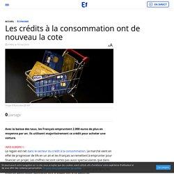Les crédits à la consommation ont de nouveau la cote