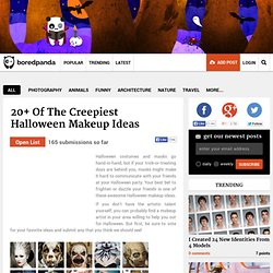 20+ Of The Creepiest Halloween Makeup Ideas