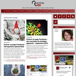 Créer et animer une page Archives - QUESTION WEB