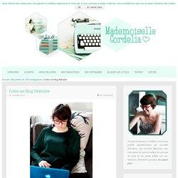 Créer un blog littéraire