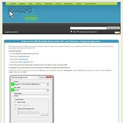 Créer sa clé USB Bootable Hiren's Boot CD - Les Tutoriaux