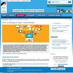 Créer sa boutique en ligne : mode d'emploi