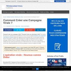 ▶ Créer une Campagne Virale