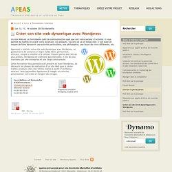 Créer son site web dynamique avec Wordpress