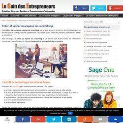 Créer un espace de co-working