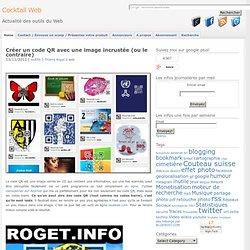Créer un code QR avec une image incrustée (ou le contraire)
