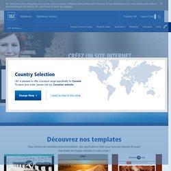 Créer un site Internet professionnel en toute simplicité avec 1&1