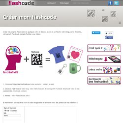 Créer mon flashcode « Flashcode Flashcode