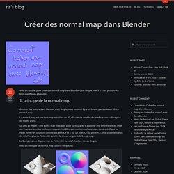 Créer des normal map dans Blender – rls's blog