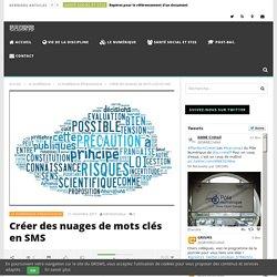Créer des nuages de mots clés en SMS