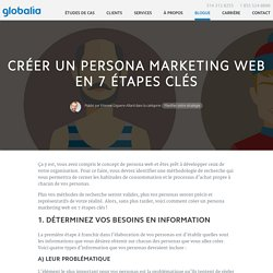 Créer un persona marketing web en 7 étapes clés