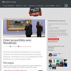 Créer un portfolio avec WordPress