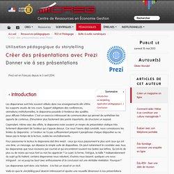 Créer des présentations avec Prezi
