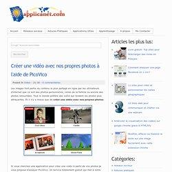 Créer une vidéo avec nos propres photos à l'aide de PicoVico
