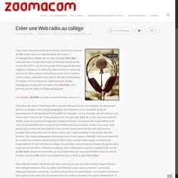 Créer une Web radio au collège