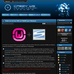 Cr@zy's Website - Créer un serveur SVN sur WAMP pour Windows