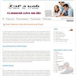 Créer un site internet avec Drupal