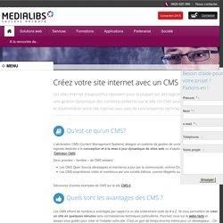Créer un site internet avec un CMS - Medialibs