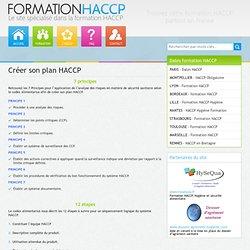 Créer son plan HACCP - Exemple