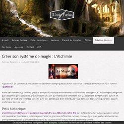 Créer son système de magie : L'Alchimie