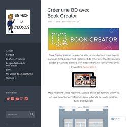 Créer une BD avec Book Creator – Un Prof D Z'écoles