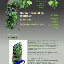 Créer un mur végétal pour l'intérieur