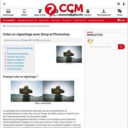 Créer un vignettage avec Gimp et Photoshop