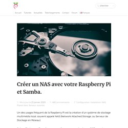 Créer un NAS avec votre Raspberry Pi et Samba.