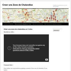 Créer une zone de chalandise en 3 clics