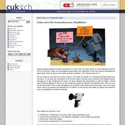 Créez votre film d'animation avec iStopMotion