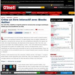 Créez un livre interactif avec iBooks Author