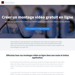Créez un montage vidéo gratuit en ligne