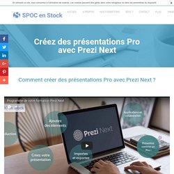 Creez des presentations Pro avec Prezi - Spoc en stock
