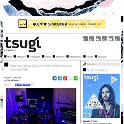 Créez votre studio de DJ avec des meubles Ikea pour moins de 200€