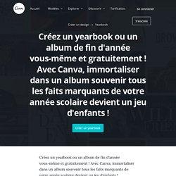 Créez un yearbook en ligne et gratuitement - Canva