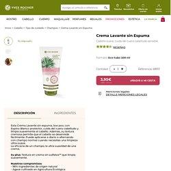 Crema Lavante sin Espuma - Yves Rocher