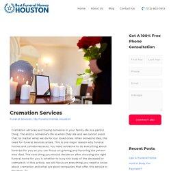 cremation services houston