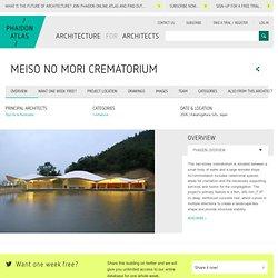 Meiso no Mori Crematorium