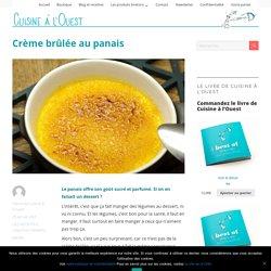 Crème brûlée au panais