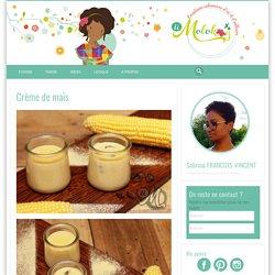 Crème de maïs