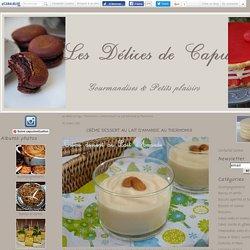 Crème Dessert au Lait d'Amande au Thermomix