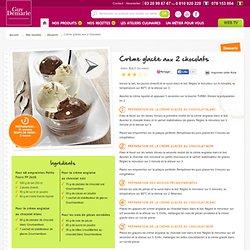 Crème glacée aux 2 chocolats - Recette