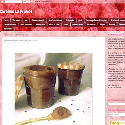 Crème de Marrons (au thermomix)