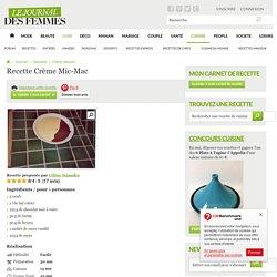 Crème Mic-Mac
