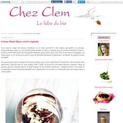 Crème Mont-blanc 100% végétale