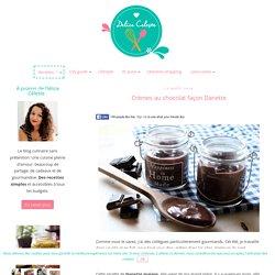 Crèmes au chocolat façon Danette