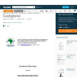 Cremona Ritter Callaud Castigliano
